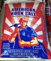 American Rock Salt 50 Lb Bag