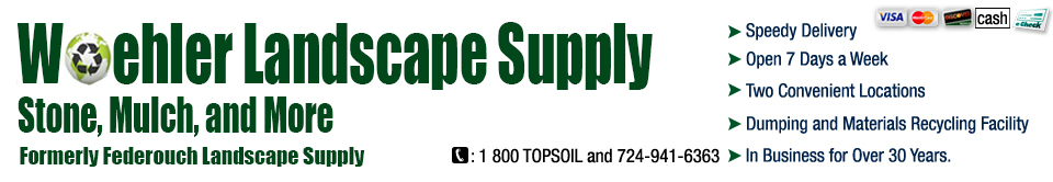 Woehler Landscape Supply Of Canonsburg Pa Offers Soil And Gravel