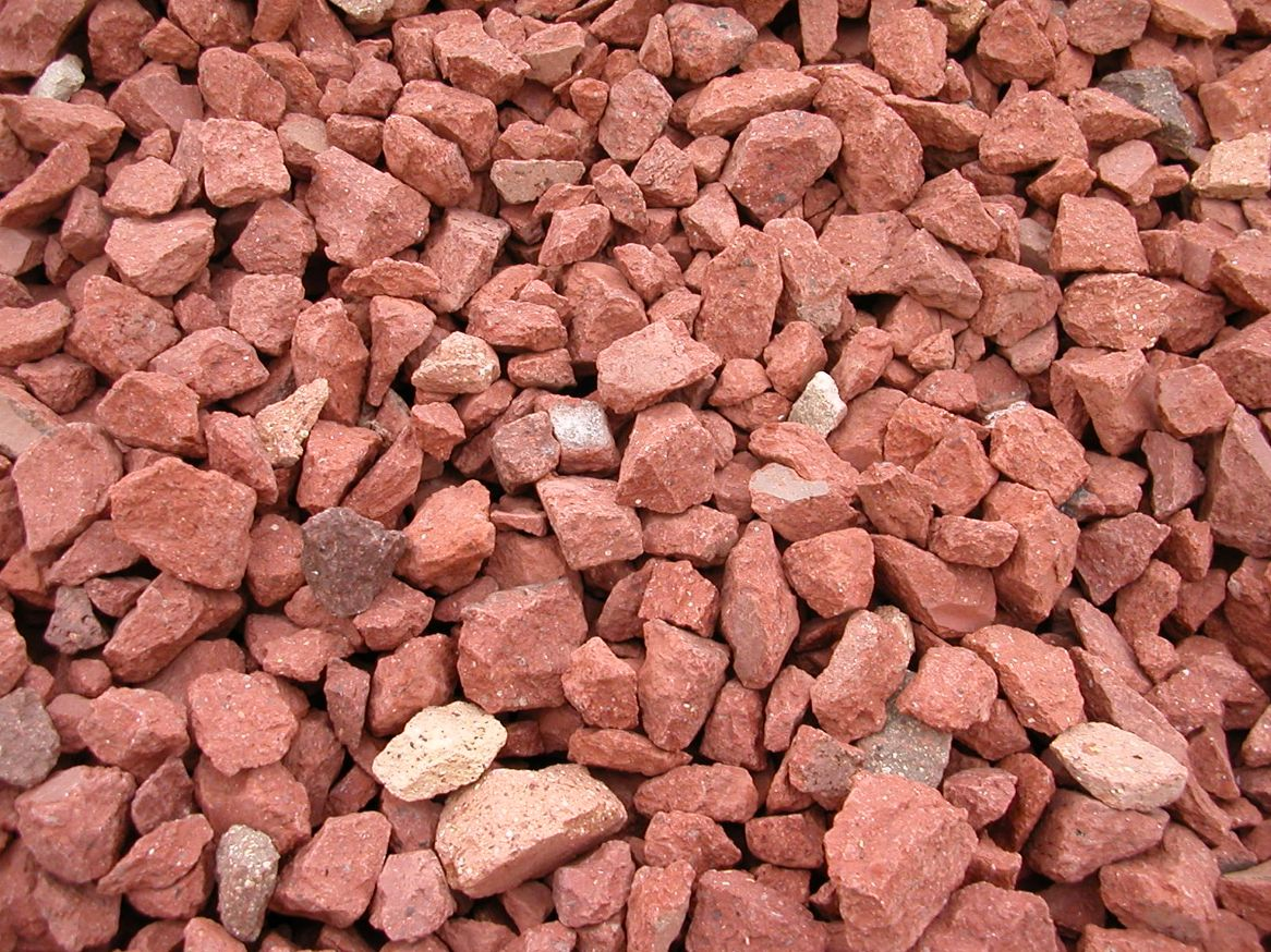 Landscaping Stone Chips : Brick chips