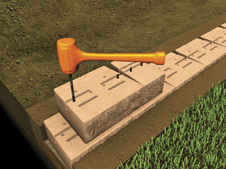 Pinned Retaining Wall Systems