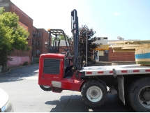 Fork Truck Delivery Allegheny County