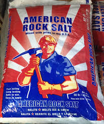 50lb Bag Rock Salt