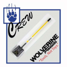 Wolverine #2 Square Point Shovel Long Handle
