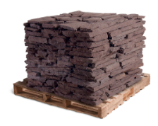 "Colonial Lilac 1-3"" and 3""-6"" Wallstone"