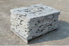 Tumbled White Mountain Pavers