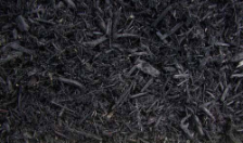 Dyed Black Bark Mulch